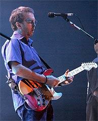 Eric Clapton en Barcelona. (EFE)