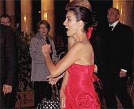 Penélope Cruz a su llegada a la gala. (REUTERS)