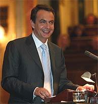 Rodríguez Zapatero, en el Congreso. VEA MÁS IMÁGENES. (J. Martínez)