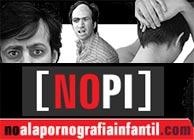 Cartel de la campaña de Anesvad contra la pornografía infantil.