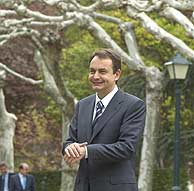 José Luis Rodríguez Zapatero, en La Moncloa. (José Ayma)