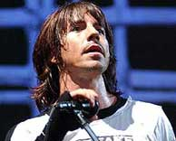 Anthony Kiedis, el vocalista de Red Hot Chili Peppers.
