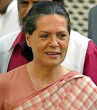 Sonia Gandhi. (REUTERS)
