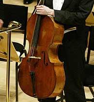 El violoncelo robado. (AFP)