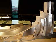 Maqueta del futuro Edificio de la Movilidad. (EM)