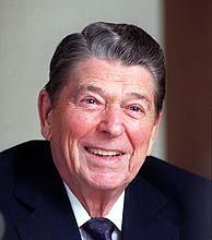 Ronald Reagan, en una imagen de 1990. (AFP)