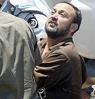 Barguti, a su llegada al tribunal. (EPA)
