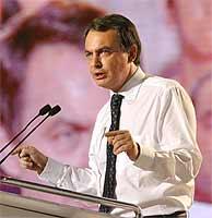 Rodríguez Zapatero, durante su mitin del martes. (EFE)