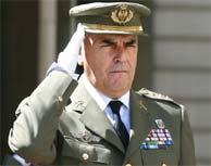 Luis Alejandre, ex jefe del Estado Mayor del Ejército de Tierra. (Diego Sinova)