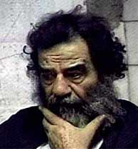 Sadam Husein, el día que fue detenido. (AP)