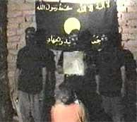 Imagen del vídeo emitido por Al Yazira. (AP)