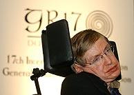Hawking, en Dublín. (AP)