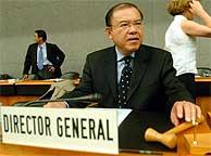 El director general de la OMC, Supachai Panitchpakdi. (REUTERS)