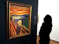 'El grito', la obra más emblemática de Munch. (EFE)