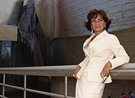 Carmen Calvo, en el Guggenheim. (Archivo: Iñaki Andrés)