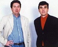 Christian Chesnot (izda.) y Georges Malbrunot, en una imagen de archivo. (AP)