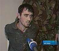 Imagen de la TV rusa de la entrevista al detenido. (AP) VEA MÁS IMÁGENES