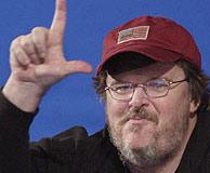 Michael Moore. (AFP)