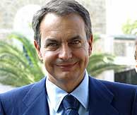 Zapatero, en Túnez. (AP)