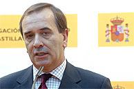 El ministro del Interior, José Antonio Alonso, en Valladolid. (EFE)
