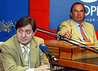 Jiménez Losantos y Rafael Pérez del Puerto (J.Palomar)