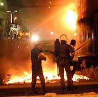 Un momento de la protesta (EFE)