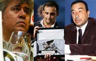 Los tres directores seleccionados.
