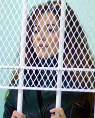 Trevi, en la prisión de Chihuahua, en una imagen de archivo. (AP)