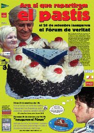 Cartel de la campaña antifórum.