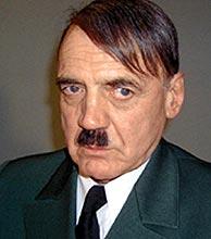 El actor Bruno Ganz caracterizado como Hitler.