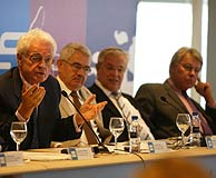 Jospin, Maragall, Clos y González. (Rudy)