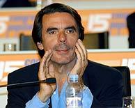 Aznar será presidente de honor del PP. (EFE)