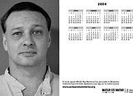 Imágen de la campaña con el rostro de un preso ejecutado en EEUU. (AI)
