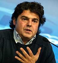 Jorge Moragas, de vuelta en Madrid. (AFP)
