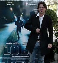 Eduardo Noriega, durante la presentación de 'Lobo'. (Javi Martínez)