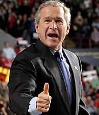La renuncia de Kerry conduce a Bush a su reelección . (Reuters) MÁS FOTOS