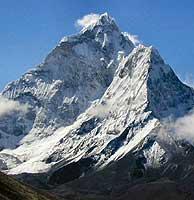 El Everest, con sus 8.850 metros de altura.