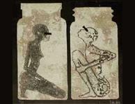 'Xilografías y Técnicas Auditivas', de Iván Larra, una de las obras de Artsur. (ACSUR)