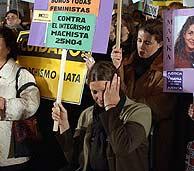Manifestación en Madrid con motivo del Día contra la violencia contra la mujer. (Foto: EFE)