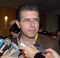 Franciscon Granados, en el Congreso Regional del PP madrileño. (Foto: EFE)