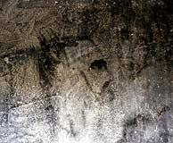Uno de los rostros 'aparecidos' en Bélmez de la Moraleda. (EFE)