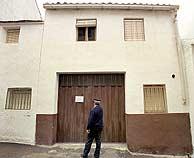 Casa natal de la fallecida María Gómez, en Bélmez, donde se registraron nuevas 'caras'. (EFE)