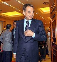 Zapatero, en la comisión. (Foto: EFE) VEA MÁS IMÁGENES