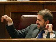 Carlos Aragonés, en el Congreso. (Foto: Julio Palomar)