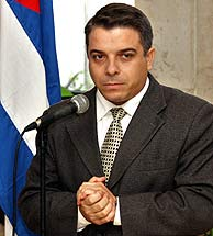 El ministro cubano de Relaciones Exteriores, Felipe Pérez Roque. (Foto: AP)