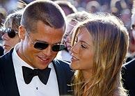 Pitt y Aniston, en una imagen del pasado año. (Foto: REUTERS)