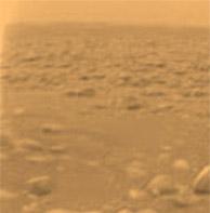Imagen de Titán enviada por 'Huygens'. Vea más. (Foto:ESA/NASA)