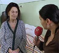 La recién estrenada madre rumana es entrevistada un mes antes de dar a luz. (Foto: AP)