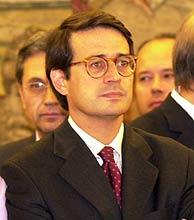 José Luis Requero, ponente del informe del CGPJ. (Foto: Javi Martínez)