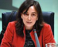 Coral Rodríguez durante su intervención. (Foto: EFE)